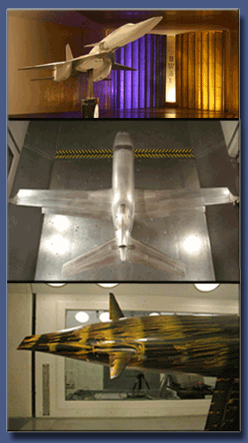 ATS built tunnel test articles; UW2006, Piper Jet, America's Cup keel, bulb and winglets...