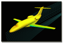 Business jet CFD